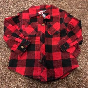 Arizona buffalo plaid shirt